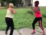 Hoodrat's Fighting In The Street