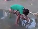 How Indians Wash Their Butts