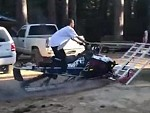 How To Perfectly Not Load A Snowmobile