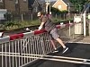 Idiot Learns Why We Have Level Crossings