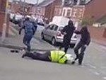 Immigrants In England Bash A Guy And Steal His Scooter