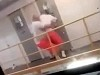 Inmate Thrown Over Railing During Prison Fight