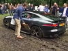 Jaguar F Type Got Stuck In The Mud