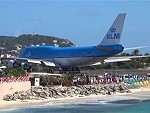 Jet Take Off At Saint Martin Is Always Spectacular