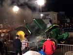John Deere Fucking Disintegrates During A Tractor Pull