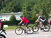 John Kerry Cycling The French Countryside Whilst His Security Detail Follows