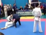 Karate Match Is Over In Record Time
