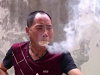 Kung Fu Master Sets Sawdust On Fire In A Very Unconventional Way