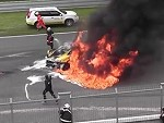 Lambo Absolutely Obliterated During A Race