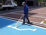 Line Marker Is The God Of Line Marking
