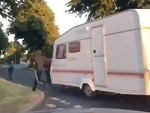 Local Troublemakers Steal A Neighbours Caravan