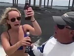 Makes Her Regret Boinking His Beer