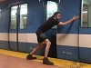 Man Stops And Starts A Train With His Bare Hands
