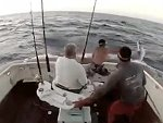 Marlin Gives Fishermen A Scary Surprise