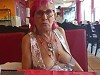 Mature Granny Doesn't Mind Getting Her Old Boobs Out