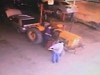 Mechanic Runs Himself Over With A Tractor