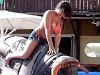 Mechanical Bull Rider Loses Her Nips And Its Pretty Hot