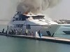 Mega Yacht Burns At The Dock