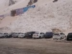 Mini Avalanche Wipes Out A Carpark