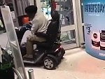 Mobility Scooter Fail