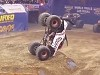 Monster Truck Pulls Off An Amazing Recovery