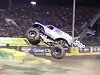 Monster Truck Pulls Off Some Amazing Never Seen Before Moves