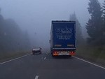 Moral Of The Story Is Don't Overtake In Thick Fog