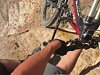Mountain Biker Is A Big Idiot