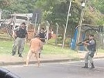 Naked Guy Vs Cops: Who Will Win?