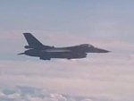 NATO Fighter Jet Taunts The Russian Defence Ministers Plane
