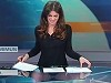 News Anchor Is Betrayed By The Glass Desk