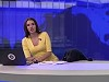 Newsreader Interrupted By A Four Legged Visitor