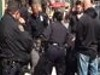 NYPD Cops Restrain A Guy Using Duct Tape And A Body Bag