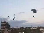 One Dead After Parachutists Collide In Mexico