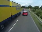 One Of The Dumbest Overtakes Ever Attempted