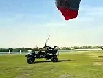 Parachute Buggy Will Need Some More Practice