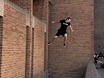 Parkour Guy Making It Look Easy