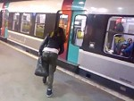Passenger Stops A Woman From Stopping The Train