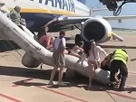 Phone Charger Fire On A Ryanair Flight Causing Emergency Evacuation