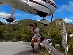 Photographer Almost Loses His Head To A Landing Plane