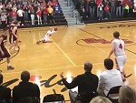 Player Pulls Off An Unbelievable Buzzer Beater