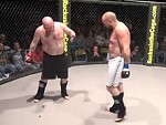 Probably The Most Awkward A Cage Fight Has Ever Been
