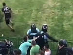 Protester Takes On Riot Police And Wins