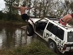 Rednecks Having Too Much Fun With An Old Car
