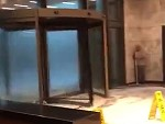 Revolving Door Is Not Enjoying The Storm