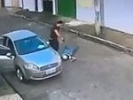 Robber In Brazil Get Blown Away Before He Can Steal Anything