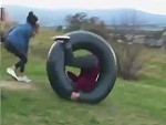 Roll Their Friend Down A Hill And Shit Gets Tense