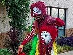 Ronald McDonald Halloweenified