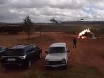 Russian Combat Helicopter Accidentally Fires Missiles