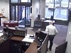 Security Guard Takes Out A Would Be Bank Robber